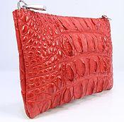 Сумки и аксессуары handmade. Livemaster - original item Clutch bag made from crocodile skin IMA0657R3. Handmade.