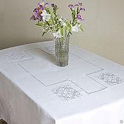 Для дома и интерьера handmade. Livemaster - original item Tablecloth Elegant about usage of place ( towels optional). Handmade.