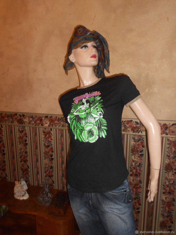 Винтаж: YUST CAVALLI футболка Италия, Одежда винтажная, Москва,  Фото №1