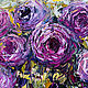 "Order Картина розы ""Букет Нежности"" картина с розами. Multicolor Gallery. Livemaster. . Pictures Фото №3"