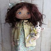 Куклы и игрушки ручной работы. Ярмарка Мастеров - ручная работа Текстильная интерьерная кукла Кира. Handmade.