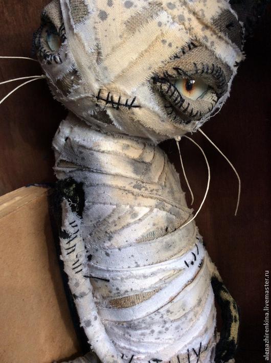 Коллекционные куклы ручной работы. Ярмарка Мастеров - ручная работа. Купить КЫСЬ. Handmade. Белый, игрушка ручной работы