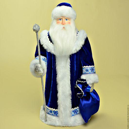Новогодний подарок к празднику Новый год Новогодний Дед Мороз подарок от мастерской Кукла в Подарок. Место изготовления - Москва. Доставка Почтой России в регионы и другие страны.