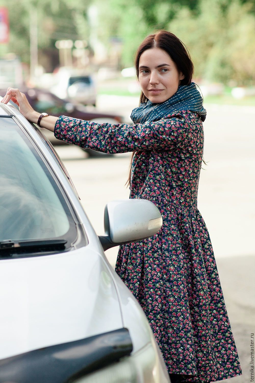 Платье в цветочек, Платья, Бийск,  Фото №1