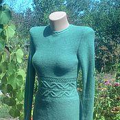 Одежда ручной работы. Ярмарка Мастеров - ручная работа Платье вязаное кашемировое. Handmade.