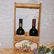 Для дома и интерьера ручной работы. Ярмарка Мастеров - ручная работа Ящик-короб  ,,Вкус винограда,,. Handmade.