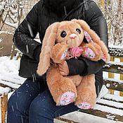 Куклы и игрушки handmade. Livemaster - original item Teddy-Bunny Pauline. Handmade.