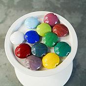 Материалы для творчества manualidades. Livemaster - hecho a mano Perlas de-lentejas multicolores de 2 cm. Handmade.