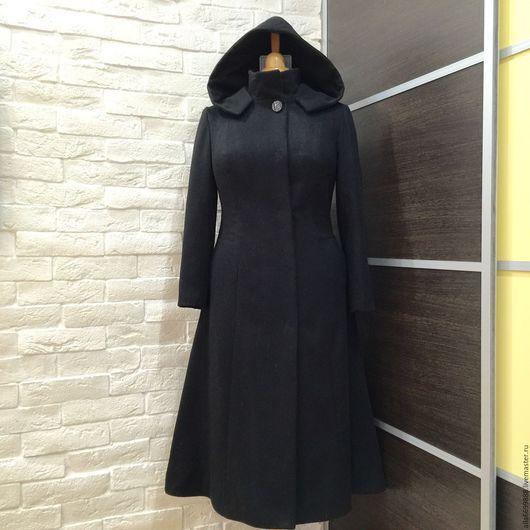 Верхняя одежда ручной работы. Ярмарка Мастеров - ручная работа. Купить Пальто-платье с капюшоном. Handmade. Пальто, славянский