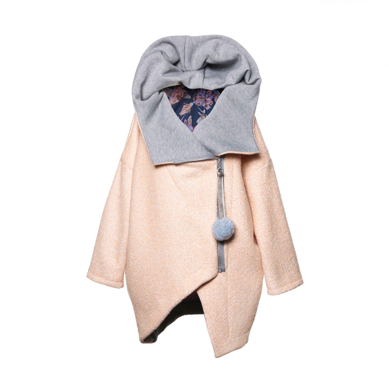 955ec5b5bfaf Верхняя одежда ручной работы. Ярмарка Мастеров - ручная работа. Купить  Зимнее пальто с капюшоном ...