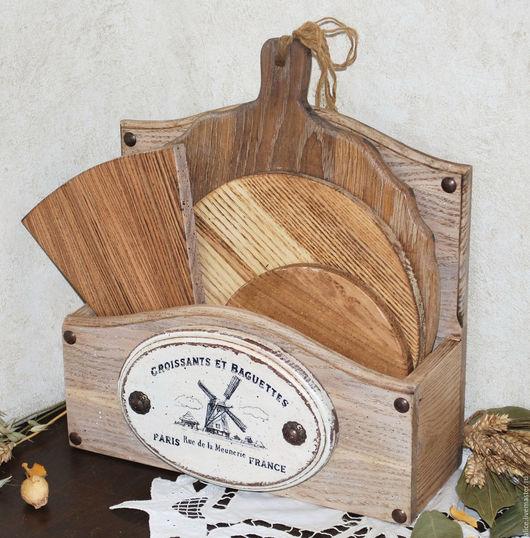 Кухня ручной работы. Ярмарка Мастеров - ручная работа. Купить Chateau подставка из дуба. Handmade. Кухня, разделочные доски
