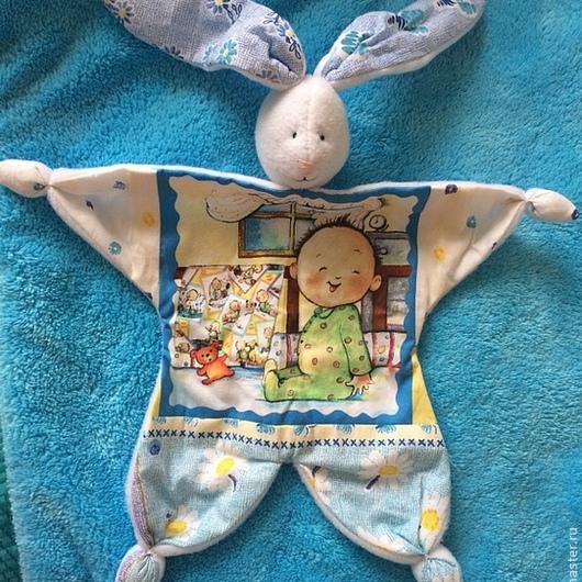Пледы и одеяла ручной работы. Ярмарка Мастеров - ручная работа. Купить Комплект для новорожденного: одеяло + комфортер. Handmade. Дети