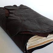 Подарки ручной работы. Ярмарка Мастеров - ручная работа Книга для записей (65). Handmade.