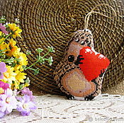 Подарки к праздникам handmade. Livemaster - original item Love the hedgehog. Handmade.