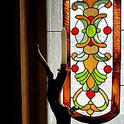 Для дома и интерьера handmade. Livemaster - original item Stained glass for Fireplace. Handmade.