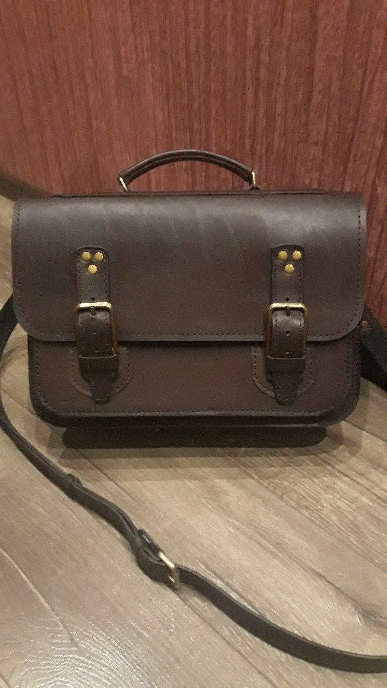 fbe725b05635 Мужские сумки ручной работы. Ярмарка Мастеров - ручная работа. Купить  Мужской кожаный портфель- ...