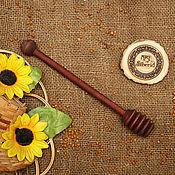 Для дома и интерьера handmade. Livemaster - original item Grisl wooden Spoon for honey Birch #D5. Handmade.