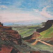Картины и панно handmade. Livemaster - original item Picture. Drakensberg. Handmade.