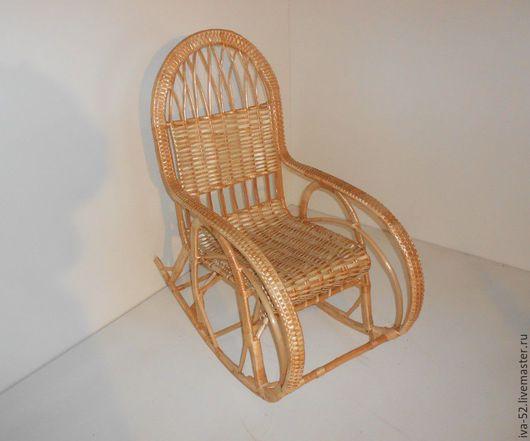 """Мебель ручной работы. Ярмарка Мастеров - ручная работа. Купить Кресло качалка """"Волна"""", плетеное из лозы.. Handmade. Кресло качалка"""