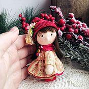 Куклы и пупсы ручной работы. Ярмарка Мастеров - ручная работа Текстильная куколка - Мила. Handmade.
