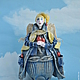 Коллекционные куклы ручной работы. Джинсовый Ангел. Радуга Гульнара Мухтарова (Rainbow-Dolls). Ярмарка Мастеров. Ручная работа