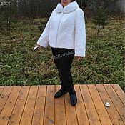 Одежда handmade. Livemaster - original item Fur coat and white mink. Handmade.