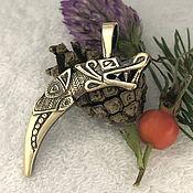 Фен-шуй и эзотерика handmade. Livemaster - original item Scythian boar Fang talisman 3 talisman amulet.New God2019. Handmade.