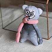 Куклы и игрушки handmade. Livemaster - original item The cat with sausages. Handmade.