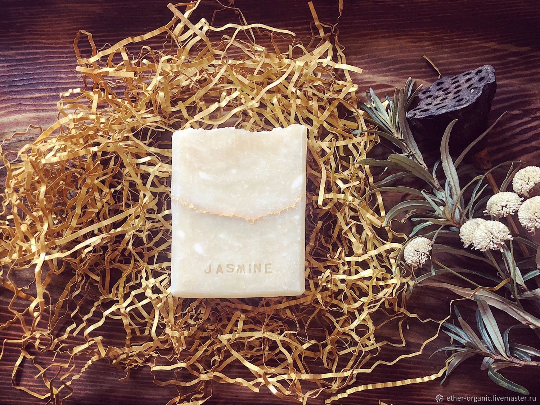 Jasmine. Натуральное мыло с жасмином и пачули, Мыло, Омск,  Фото №1