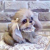 Куклы и игрушки ручной работы. Ярмарка Мастеров - ручная работа собака Леди. Handmade.