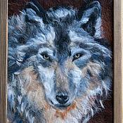 Картины и панно ручной работы. Ярмарка Мастеров - ручная работа Серый. Handmade.