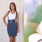Одежда handmade. Livemaster - original item Sundress skirt knitted