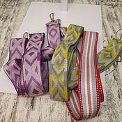 Сумки и аксессуары handmade. Livemaster - original item A belt for a bag. colored sling.. Handmade.