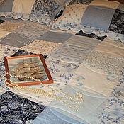 Для дома и интерьера ручной работы. Ярмарка Мастеров - ручная работа Плед лоскутный. Handmade.