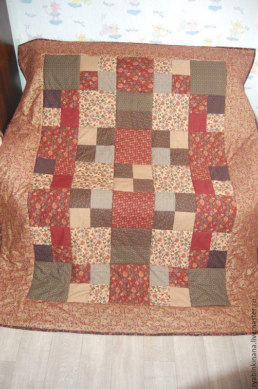 Текстиль, ковры ручной работы. Ярмарка Мастеров - ручная работа. Купить Золотая осень. Handmade. Коричневый, подарок на любой случай