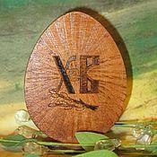 Подарки к праздникам ручной работы. Ярмарка Мастеров - ручная работа Пасхальный сувенир яйцо пасхальное. Handmade.