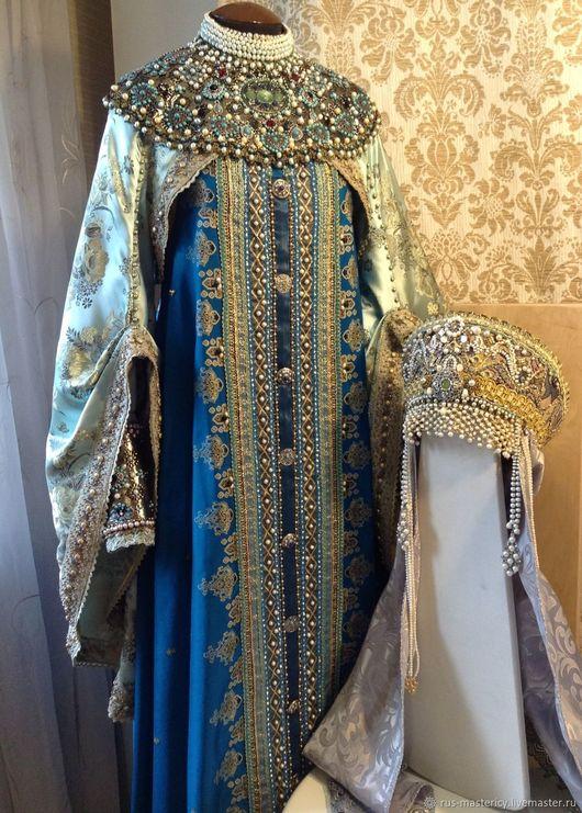 Верхняя одежда ручной работы. Ярмарка Мастеров - ручная работа. Купить Боярский костюм Лада. Handmade. Комбинированный, боярский костюм