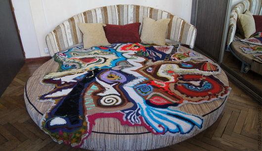 Текстиль, ковры ручной работы. Ярмарка Мастеров - ручная работа. Купить Гобелен «Карта Вселенной». Handmade. Плед, покрывало в детскую