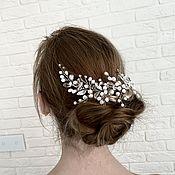 Свадебный салон handmade. Livemaster - original item Wedding hair decoration