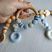 Работы для детей, handmade. Livemaster - original item Personal teething toy.. Handmade.