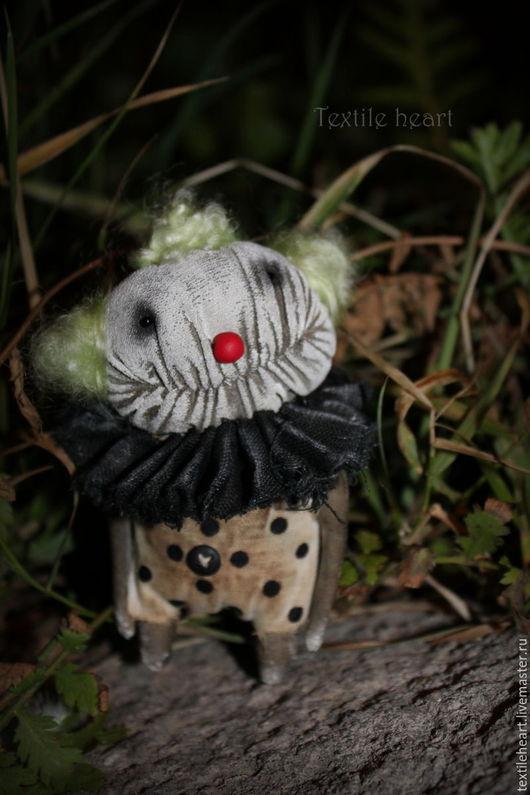 Коллекционные куклы ручной работы. Ярмарка Мастеров - ручная работа. Купить Чарли. Страшный клоун.. Handmade. Комбинированный, чердачные монстры