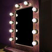Для дома и интерьера ручной работы. Ярмарка Мастеров - ручная работа Гримерное зеркало Vintage Purple Plus (на подставке) MAAK Magic`s. Handmade.