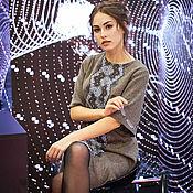 Одежда handmade. Livemaster - original item Author dress Choco Lace-2. Handmade.