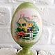 Яйца ручной работы. Пасхальное яйцо на подставке. Гараж Идей. Ярмарка Мастеров. Пасхальное яйцо, яйцо на подставке, Пасха