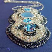 Колье Crystal blue