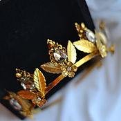 Свадебный салон handmade. Livemaster - original item Diadema