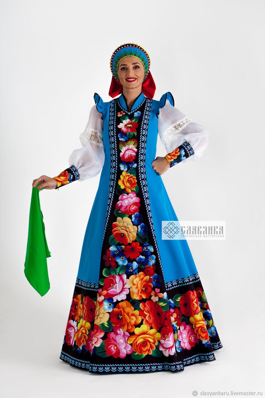 Russian folk costume ' Zhostovo', Suits, Sergiev Posad,  Фото №1