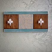 Для дома и интерьера handmade. Livemaster - original item Decorative hanger-panel