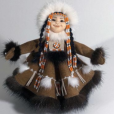 Куклы и игрушки ручной работы. Ярмарка Мастеров - ручная работа Куклы: Кыкша-ай (Житель большой реки). Handmade.