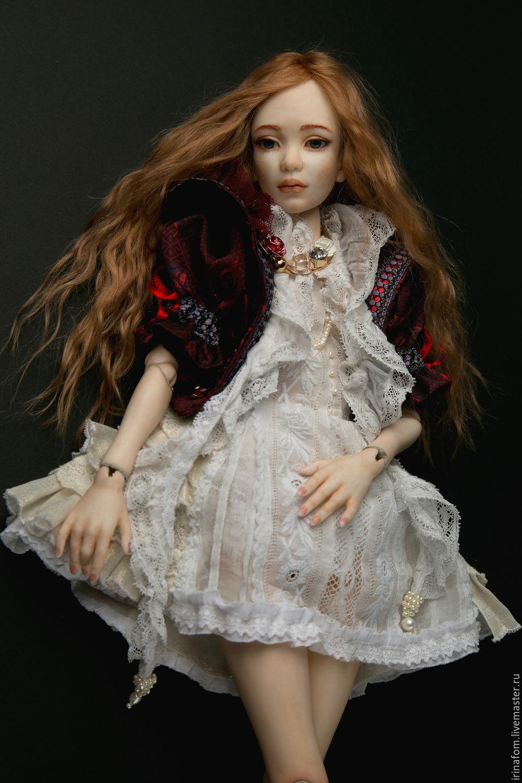 Инфанта.Фарфоровая, шарнирная кукла 46 см, Шарнирная кукла, Санкт-Петербург,  Фото №1